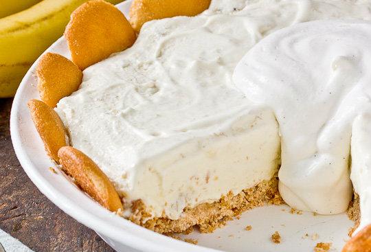 Banana Pudding Ice Cream Pie