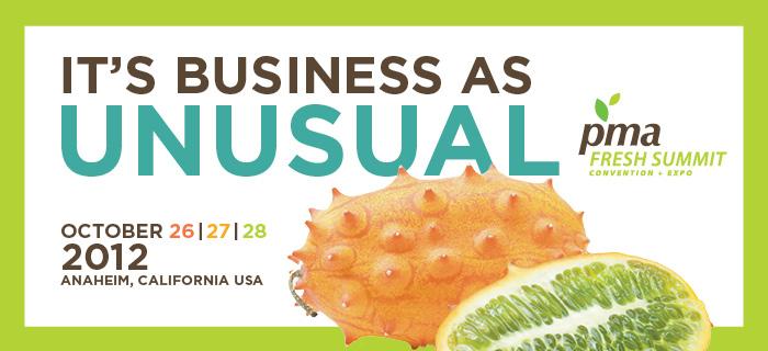 Organics Unlimited PMA Fresh Summit 2012