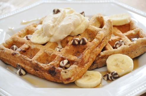 Chocolate Banana Waffle Recipe