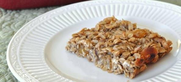 Recipe Oatmeal Banana Breakfast Bars