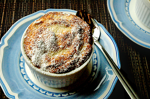 Warm Banana Souffle