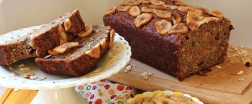 Recipe Banana Carrot Bread with Cranberries
