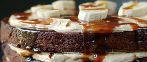 Recipe Caramel Banana Cake