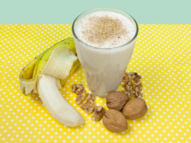 Walnut and Banana Smoothie