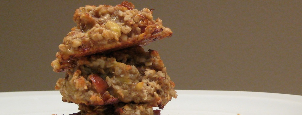 Healthy Recipe Banana and Oat Cookies