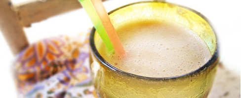 Healthy Recipe Banana Apricot Hemp Smoothie