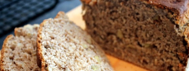 Healthy Recipe Whole Wheat Banana Bread