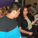 Leonel and his mom