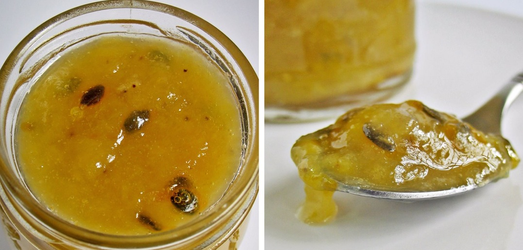 Recipe Banana and Passion Fruit Jam