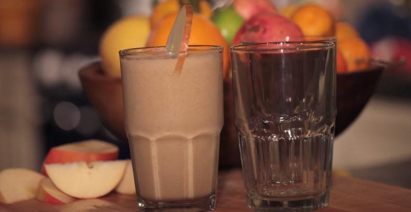 Recipe Healthy Apple Banana Smoothie