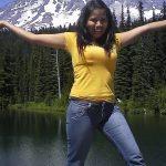 Tatiana at Mt Rainier