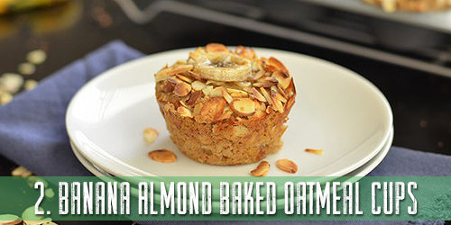 Banana-Almond-Baked-Oatmeal-Cups-Recipe