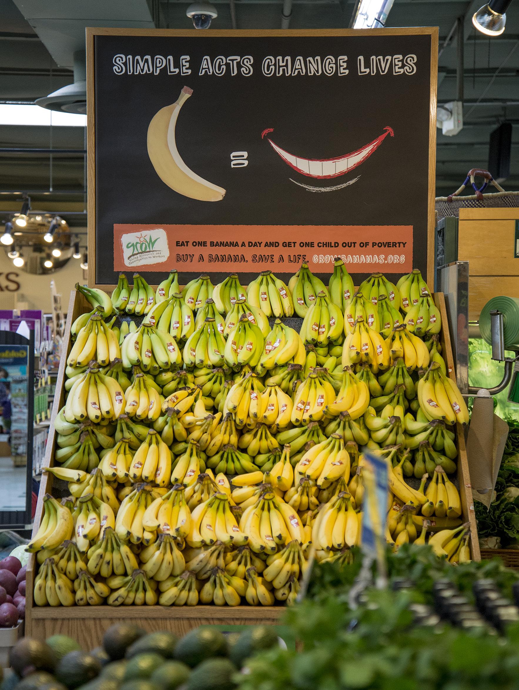 GROW bananas sacramento natural foods co-op