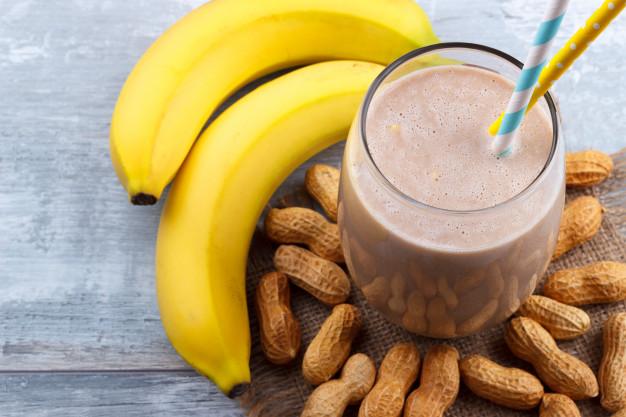 PB Banana Smoothie